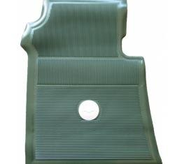 Full Size Chevy Floor Mats, Accessory, Green, 1961-1964