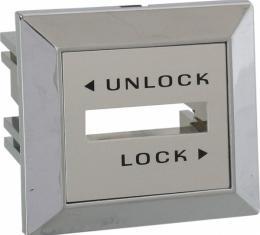 Daniel Carpenter Mustang Power Door Lock Switch Bezel, Right Side, 1979-1980 D9ZZ-14528-C
