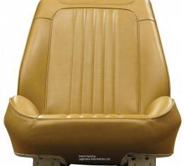 Legendary Auto Interiors Chevelle & Malibu Sport Seats, Rallye, Front, Covers & Foam, 1972