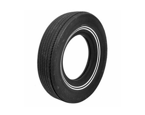 Tire, G78 x 14, Dual 3/8 Whitewall, BF Goodrich, 1958-64