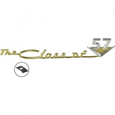 Chevy Emblem, Dash Speaker Grille, 150/210 Class Of 1957