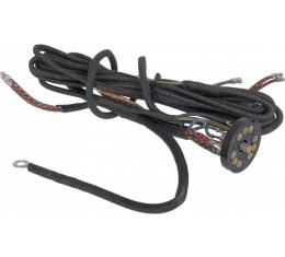 Headlight & Tail Light Wire Harness - For Vehicles Without Cowl Lamps - Ford Passenger