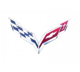 "Corvette Metal Sign, C7 12"" X 7"""