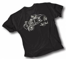 Laid Back 1932 Street Rod T-Shirt, Black
