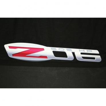 Corvette Metal Sign, Z06, 2006-2013