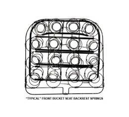 Seat Spring - Ford Victoria - Front Backrest