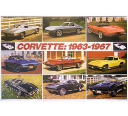 Corvette C2 1963-1967 Poster
