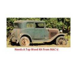 Model A Ford Top Wood Kit - Victoria 190A - USA Made