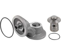 Oil Filter Adapter - 332 & 352 V8 - Ford