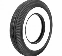 Tire - 710 X 15 - 2-3/4 Whitewall - Tubeless - Firestone