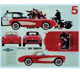 Corvette Great Getaway Cars 1957 Poster