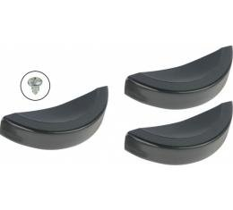 Water Heater Door Knob - Black - 3 Piece Set - Ford