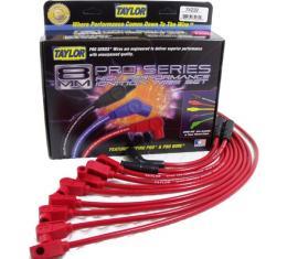 Camaro Taylor Plug Wires, Spiro-Pro Custom, Red, LT1, 1996-1997