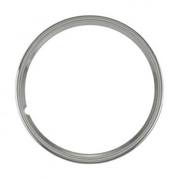 Wheel Trim Ring - Smooth Stainless Steel - 15 - Ford