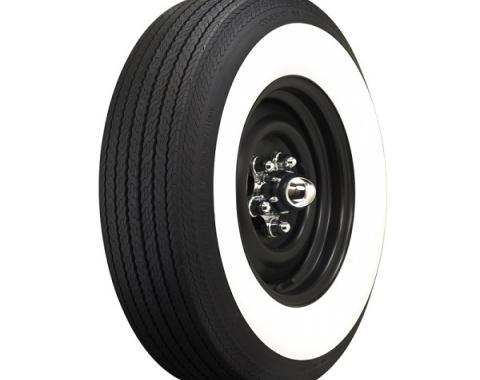 Tire, 750 X 14, 2-1/4 Whitewall, Tubeless, Coker Classic, 1957