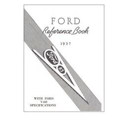 Ford Reference Book 1937 - 64 Pages