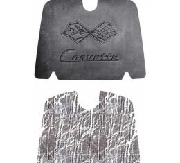 Quiet Ride Hood Cover and Insulation Kit, AcoustiHOOD| 25-12582 Corvette 1953-1955