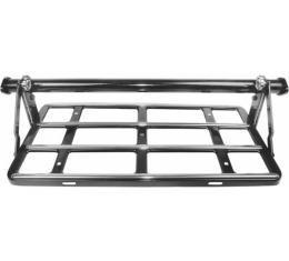 Luggage Rack - With Trim, Fasteners & Bracket - Black - Ford