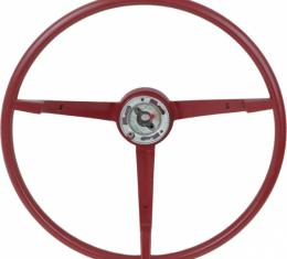 Steering Wheel - Cars With A Generator - Red