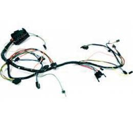 Firebird Dash Wiring Harness, For Cars With Column-Shift Automatic Transmission & Rally Gauges, 1967