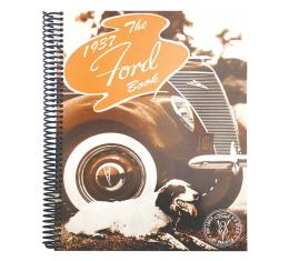 The 1937 Ford Book - 220 Pages