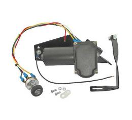 Electric Wiper Motor Conversion Kit - 12 Volt - Ford Convertible & Ford Station Wagon