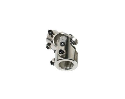 Chevy Truck U-Joint, Nickel Plated, For Rack & Pinion Steering, 1947-1972