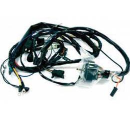 Firebird Engine Wiring Harness, V8, With Ram Air And A/C, 1970