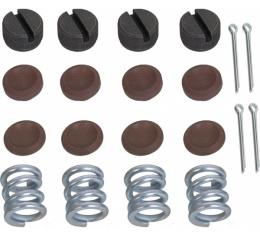 Tie Rod & Drag Link Rebuilding Kit - Teflon Impregnated With Bronze - 20 Pieces - Ford