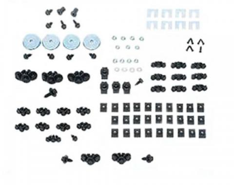 Front End Fastener Kit, Stainless Steel, 1970-81