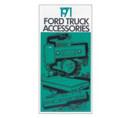 Ford Pickup Truck Accessories Brochure