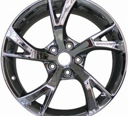 """Premier Quality Products Wheels, Grand Sport, Unreleased OE Style, 18""""x9.5"""" Front & Rear, Chrome