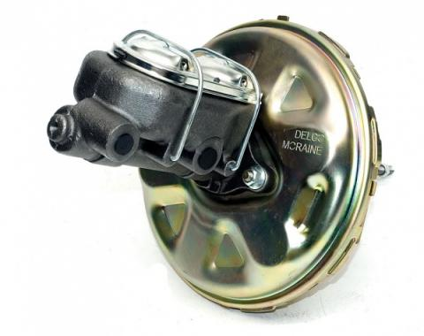 Chevelle Brake, Power Booster, With Master Cylinder, 11 Delco Moraine, 1964-1972
