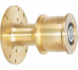 Model T Ford Fan Hub - Brass - Modern Sealed Bearings Inside