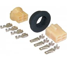 Chevy Grommet & Connector Kit, 4 Wire, 1955-1957