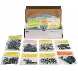Nova And Chevy II Small Block Engine Bolt Kit, For Cars Without Air Conditioning, 1966-1967