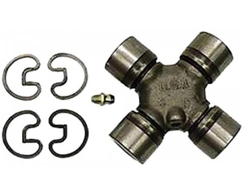 Nova Universal Joint, Driveshaft, 3-1/4'' x 3-1/4'', With Outside Snap Rings, 1965-1979