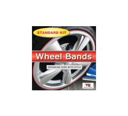 Wheel Bands,Silver Kit With Insert