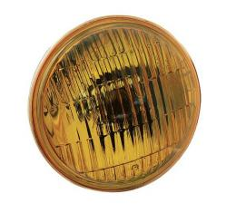 Fog Lamp Bulb - Replacement - Amber - 6 Volt - 4-1/2 OD