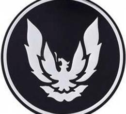 Firebird Wheel Center Cap Emblem, GTA, Silver, 1988-1992
