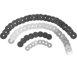Fender Washer Kit - 60 Pieces - Rubber & Metal - Ford