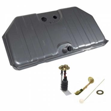 Gas Tank Kit, EFI, Narrowed Corner, 67-68