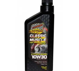 Champion Classic & Muscle High Zinc Synthetic Blend Motor Oil, 10W-30
