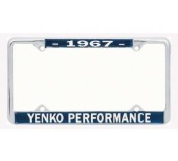 Chevelle Yenko Performace License Frame, 1967