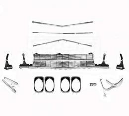 El Camino Grille Kit, With Headlight Bezels, Super Sport 396, 1969