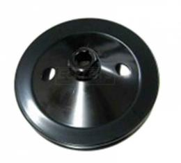 Firebird Power Steering Pulley, Single Groove For Cars With Air Conditioning, Pontiac V8, 1970