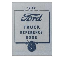 Truck Owners Manual 1939 - 64 Pages - Ford