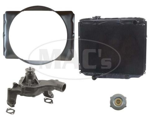 66 Fairlane Cooling Kit (3 Row-390/427) Hi Efficiency