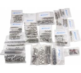 Chevy Truck Front End & Cab Bolt Kit, Stainless Steel, Button Head, 1947-1951