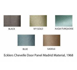 PUI 1968 Chevrolet Chevelle Rear Door Panels, 4 Door Sedan/Wagon 68AD4DW